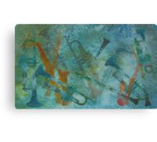 Jazz Improvisation One Canvas Print
