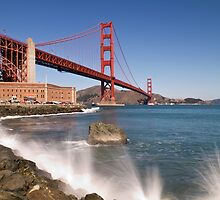 Golden Gate Bridge by Melanie Viola