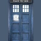 Doctor who Inspired Tardis Iphone 5 Cover by kevinlartees