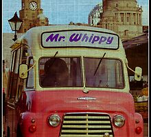 Mr Whippy Ice Cream Van, Pier Head by Beverley Goodwin