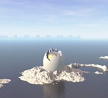 Egg Island by perkinsdesigns