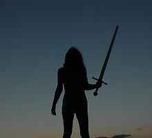 SKYCLAD SWORD by NorthernWitch