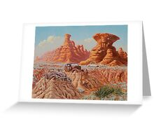 Fossil Land Greeting Card