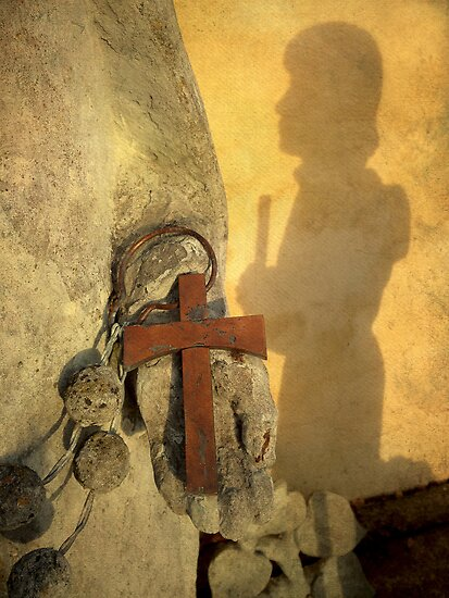 Pilgrim Shadow & Cross by Madeleine Forsberg