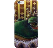 Frog King II iPhone Case/Skin