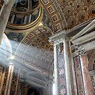 Vatican Rome.....Sun Rays by Kimberley  x ♥ Davitt