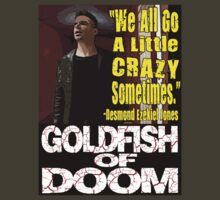 Goldfish of Doom - Desmond Crazy by perilpress