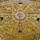 Richly Ornamented Altar Dome in St John's Co-Cathedral, Valletta, Malta by Gerda Grice