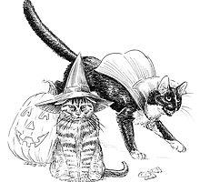 Trick-or-Treat Kitties by Stephanie Smith