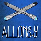 Doctor Who Poster Series #4: Allons-y by Caffrin25