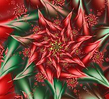 Christmas Poinsettia by wolfepaw