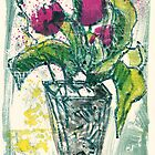 Tulips for Ulrike, flower still life by aceshirt
