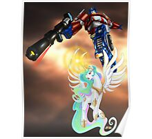 Celestia Heeds the Call of the Last Prime Poster