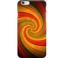 Retro Spiral Swirl Colorful Pattern iPhone 5 / iPhone 4 Case / Samsung Galaxy Cases  iPhone Case/Skin