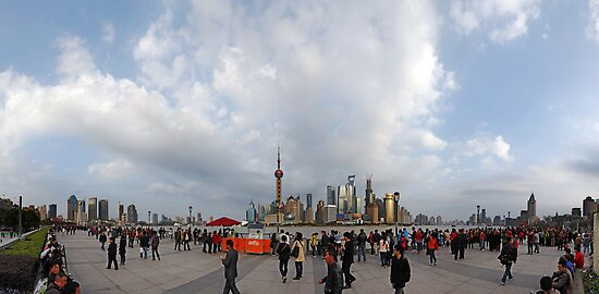 Shanghai Populous 180 Degree by Gwoeii