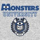 Monsters University by goldenote