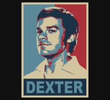Dexter In The Style Of Obama by JcDesign