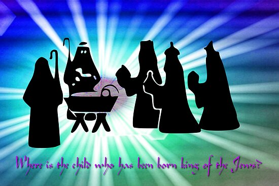 The Arrival of the Three Wise Men - King of the Jews by Dennis Melling