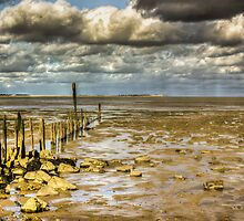 Graveney Beach by Ian Hufton