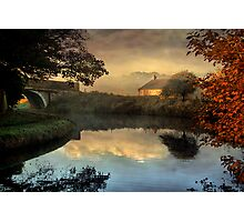 Just before sunrise. Photographic Print