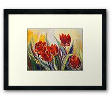 Spring Fire Framed Print