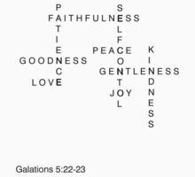 Fruits of the spirit - Galations 5:22-23 by kenzie2806