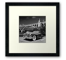 The Bridge to Somewhere Framed Print