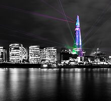 Shard Laser Display by Dawn OConnor