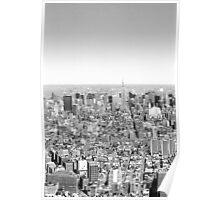 New York Skyline 1 Poster