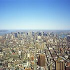 New York Skyline 2 by Flo Smith