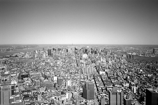 New York Skyline 3 by Flo Smith