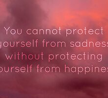 Happiness and sadness by Sarah St. Pierre