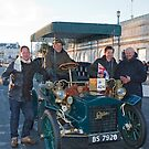 Tony Hirst On London to Brighton Veteran Car Run by Keith Larby