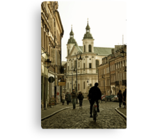 Warsaw Old Town Canvas Print