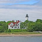 Point Iroquois Lighthouse by Jack Ryan