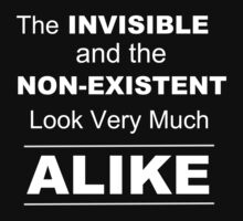 Invisible and Nonexistent Look Alike  by Samuel Sheats