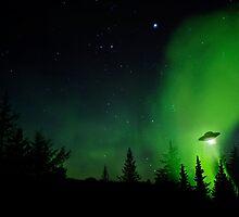 Alaskan UFO by mcornelius