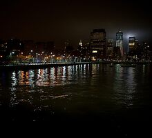 Lights on the Hudson by Elephantlove