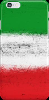 Italian Flag by TinaGraphics