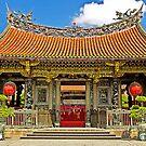 Mengila Longshan Temple, Taipei, Taiwan by TonyCrehan
