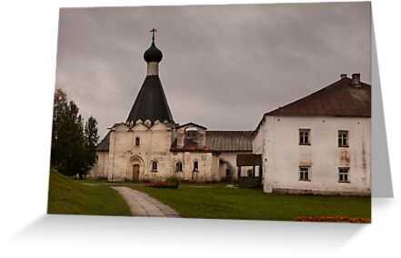 Monastery of St Cyril, Russia by TeaRose