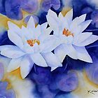 Water Lily's by Kay Clark