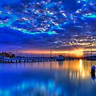Valentine Sunset Blue by bazcelt