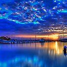 Valentine Sunset Blue by bazcelt