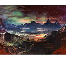 Firewalk Canyon Photographic Print