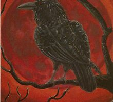 The Raven and the Red Moon by Zorro18