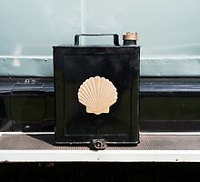 Shell 1920s Petrol Can by Flo Smith