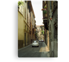 Cinquecento Fiat 500 - Verona Canvas Print