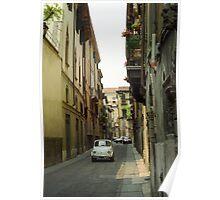 Cinquecento Fiat 500 - Verona Poster
