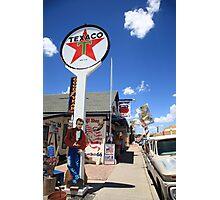 Route 66 - Seligman, Arizona Photographic Print